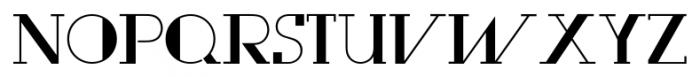 Rewind Regular Font UPPERCASE