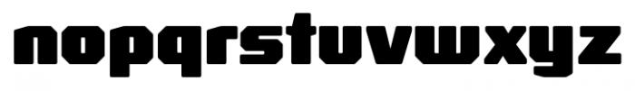 Rexlia Black Font LOWERCASE
