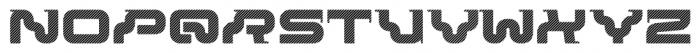 Rezzzistor 4F Stripes Font UPPERCASE