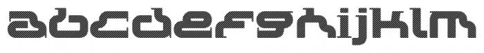 Rezzzistor 4F Stripes Font LOWERCASE