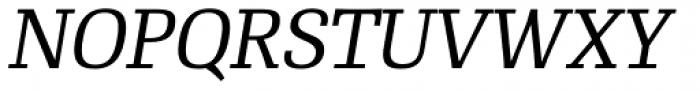 RePublic Std Italic Font UPPERCASE