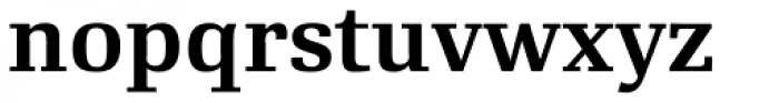 RePublic Std SemiBold Font LOWERCASE