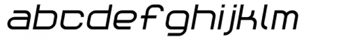 Reaction Bold Italic Font LOWERCASE