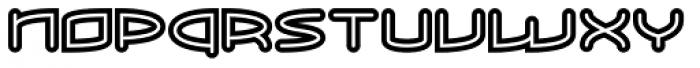 ReadOut Super Font UPPERCASE
