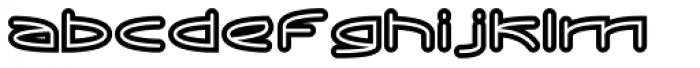 ReadOut Super Font LOWERCASE