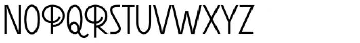 Reader Bold Font UPPERCASE