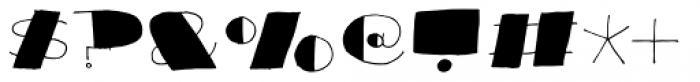 Reaktion Black Font OTHER CHARS