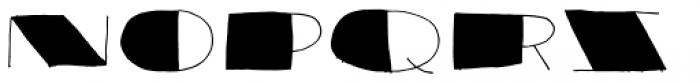 Reaktion Black Font UPPERCASE