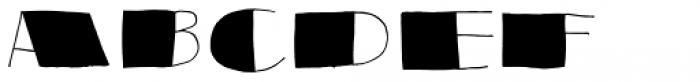 Reaktion Black Font LOWERCASE