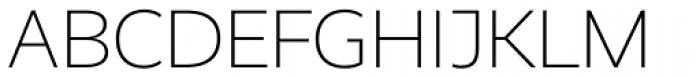 Realist Light Font UPPERCASE