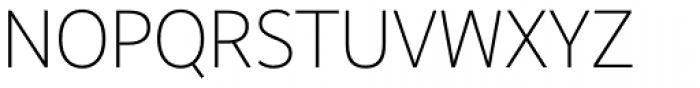 Realist Narrow Light Font UPPERCASE