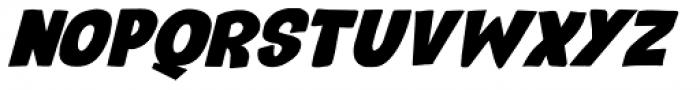 Reality Check Italic Font UPPERCASE