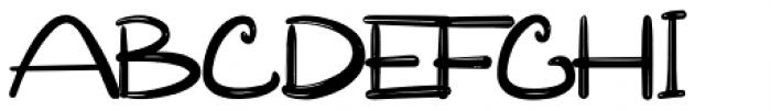Reallova Regular Font UPPERCASE