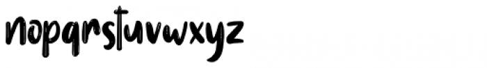 Reallova Regular Font LOWERCASE