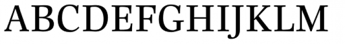 Really Medium Font UPPERCASE