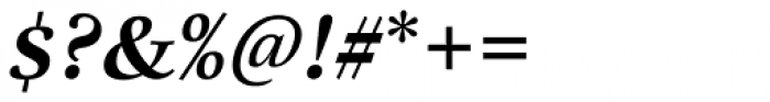 Really No 2 Cyrillic Bold Italic Font OTHER CHARS
