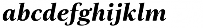 Really No 2 Greek ExtraBold Italic Font LOWERCASE