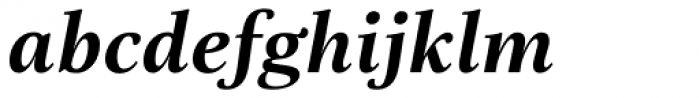 Really No 2 Hebrew Bold Italic Font LOWERCASE