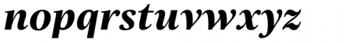 Really No 2 Hebrew ExtraBold Italic Font LOWERCASE