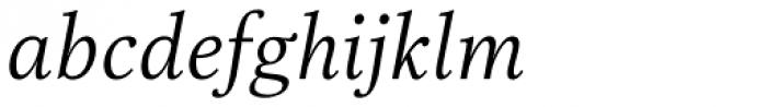 Really No 2 Pro Light Italic Font LOWERCASE