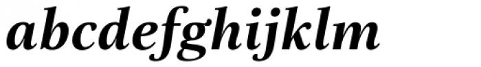 Really No 2 W1G Bold Italic Font LOWERCASE