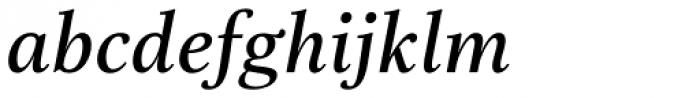 Really No 2 W1G Demi Italic Font LOWERCASE