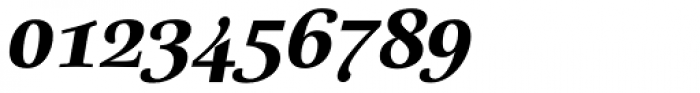 Really No 2 W1G ExtraBold Italic Font OTHER CHARS
