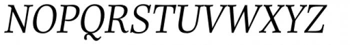 Really No 2 W1G Light Italic Font UPPERCASE