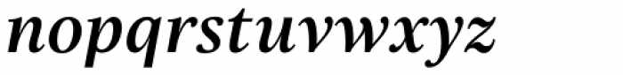 Really No 2 W1G SemiBold Italic Font LOWERCASE
