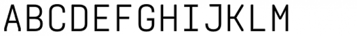 Realtime DEMO Font UPPERCASE
