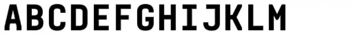 Realtime Text Black Font UPPERCASE