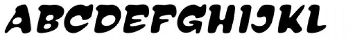 Reasonist Medium Italic Font UPPERCASE