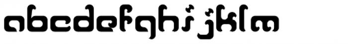 Reaver Bold Font LOWERCASE
