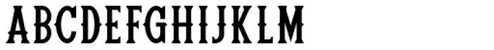 Rebel Four Regular Font UPPERCASE