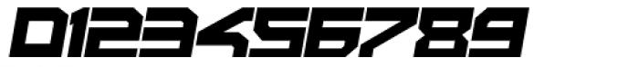 Rebirth Black Italic Font OTHER CHARS