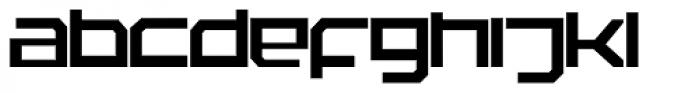 Rebirth Font LOWERCASE