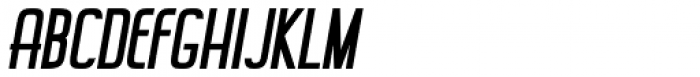 Rebista Extra Bold Italic Font UPPERCASE