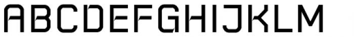 Rebnick Medium Font UPPERCASE