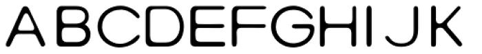 Rebound Light Font UPPERCASE