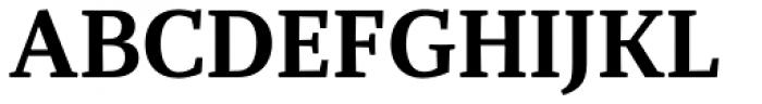 Recia Bold Font UPPERCASE