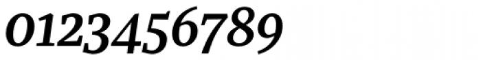 Recia Semibold Italic Font OTHER CHARS