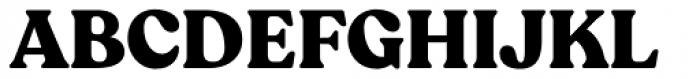 Recoleta Alt Black Font UPPERCASE