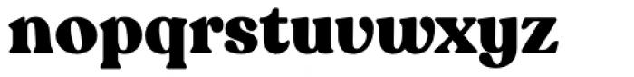 Recoleta Alt Black Font LOWERCASE