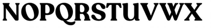 Recoleta Alt Bold Font UPPERCASE