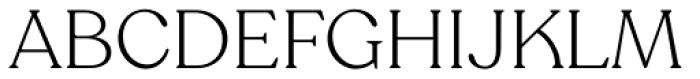 Recoleta Alt Light Font UPPERCASE