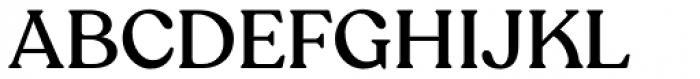 Recoleta Alt Medium Font UPPERCASE