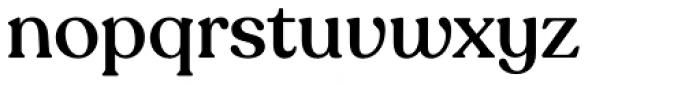 Recoleta Alt Medium Font LOWERCASE