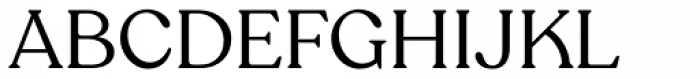 Recoleta Alt Regular Font UPPERCASE