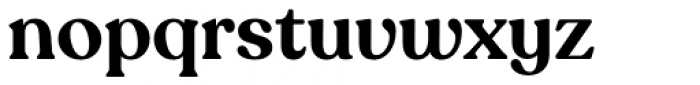 Recoleta Alt Semi Bold Font LOWERCASE