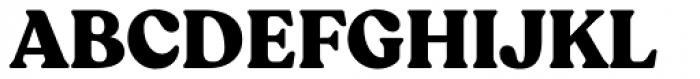 Recoleta Black Font UPPERCASE